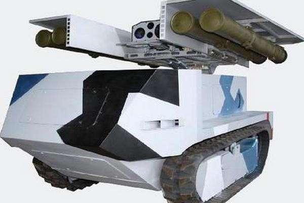 Беларусь показала противотанковый -Богомол- (1 фото)