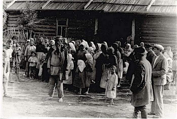 Советская деревня в 40-е (26 фото)