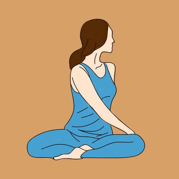 Она начала делать эти простые упражнения через день. Усталость и боли в спине прошли!