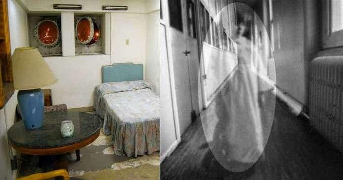 15 пугающих историй о встрече с призраками на круизных суднах (16 фото)