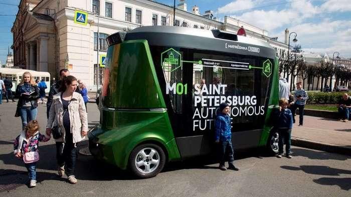 Беспилотная -Матрешка- готова выйти на российские дороги (2 фото)