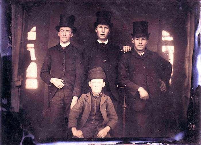 Молодежь викторианской эпохи (19 фото)