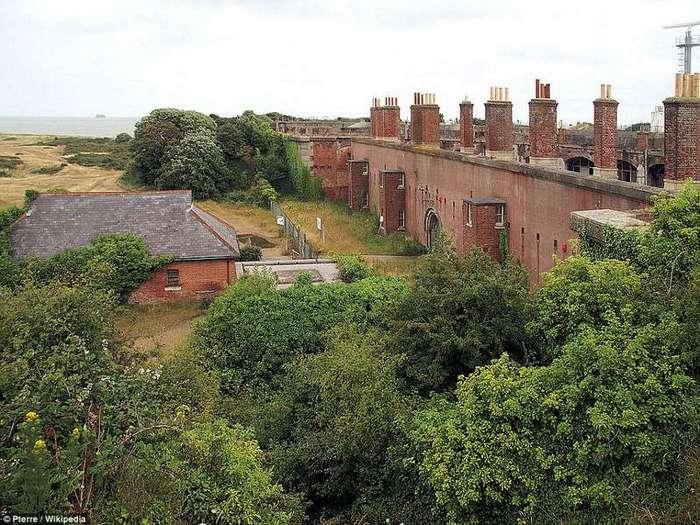 Форт викторианской эпохи превратится в жилье класса люкс (10 фото)