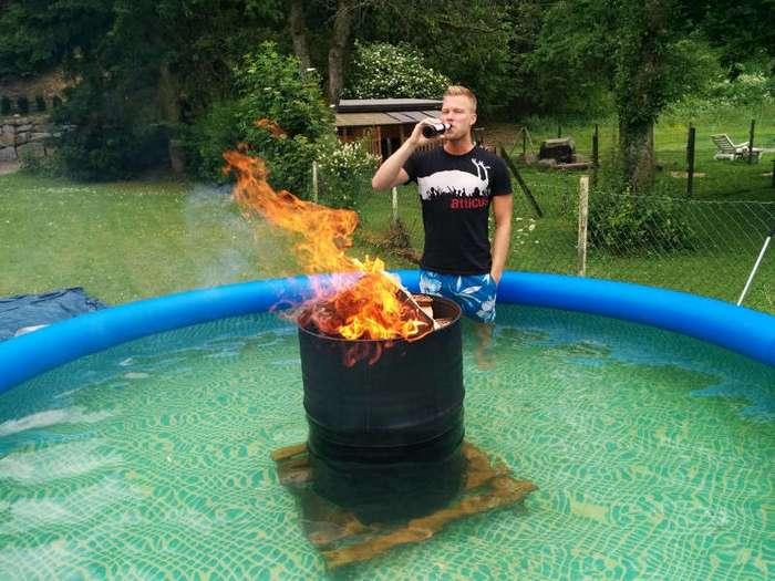 Отключение воды - добро пожаловать в лето! (22 фото)
