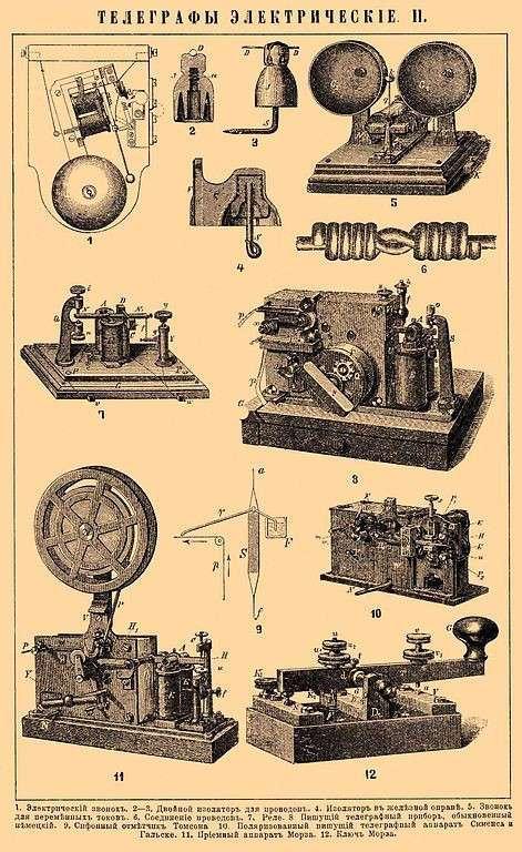 Первая в истории телеграмма (3 фото)