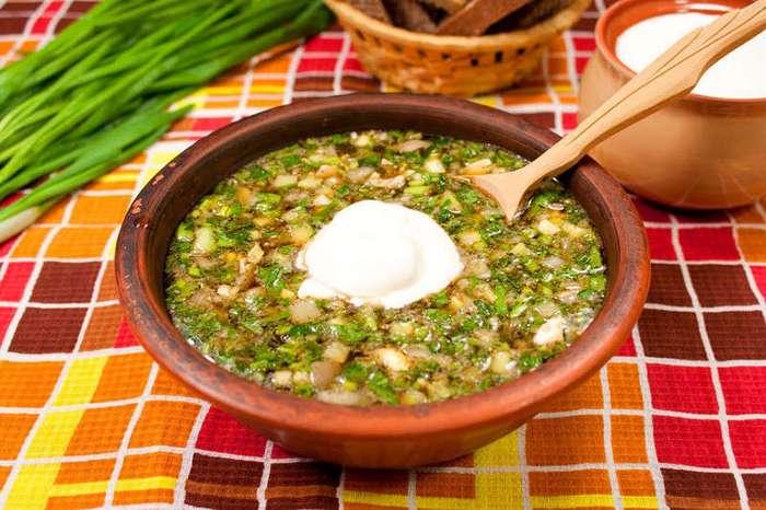 Окрошка с жареной картошкой: три оригинальных рецепта традиционного блюда (11 фото)