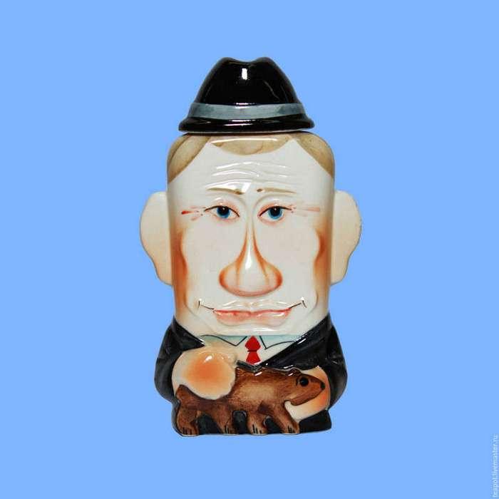 Образы Путина в народном творчестве (23 фото)