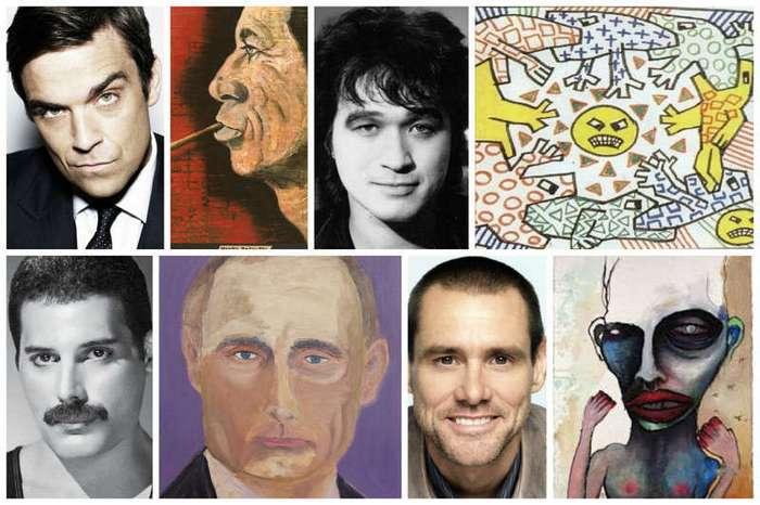 Неизвестные таланты известных людей (22 фото)