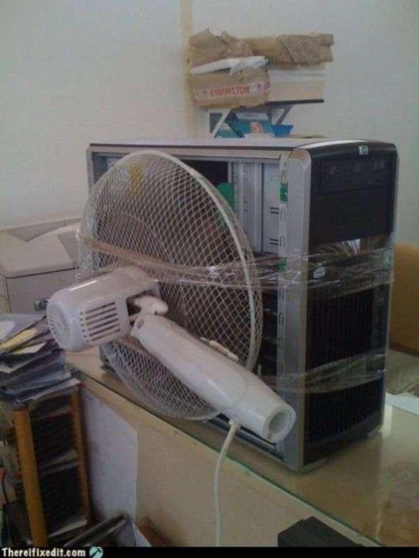 Гикам на заметку: несколько вариантов охлаждения для компа (21 фото)