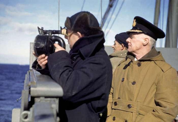 Атлантический конвой 1941г. в объективе Роберта Капы (35 фото)