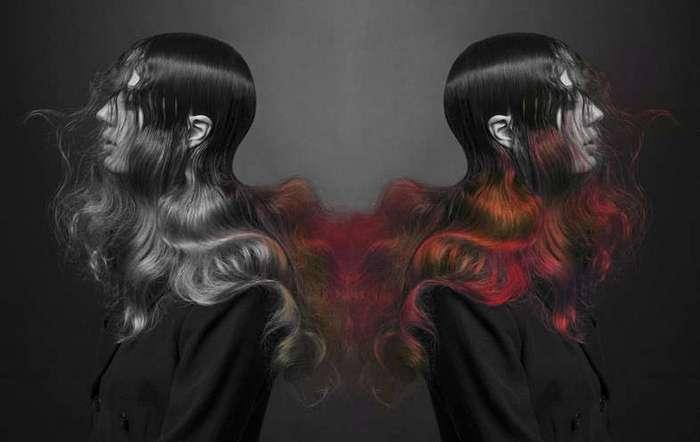 Ведьма-учёный сварила новую краску для волос (5 фото)