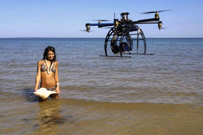 Куда полетят российские дроны (5 фото)