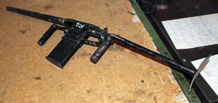 Самодельные огнестрелы (15 фото)
