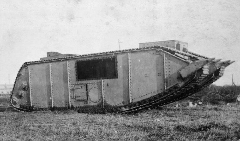 Паровые танки (14 фото)