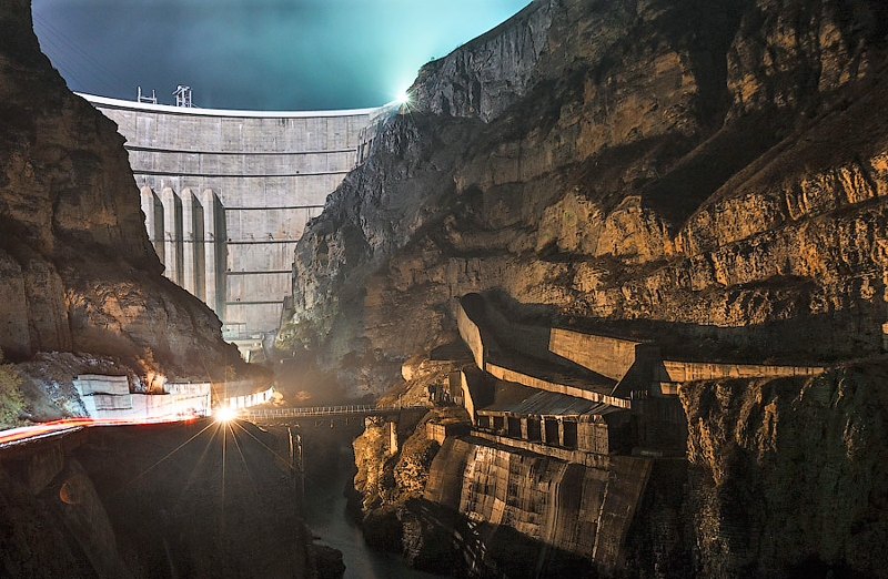 Чиркейская ГЭС (37 фото)
