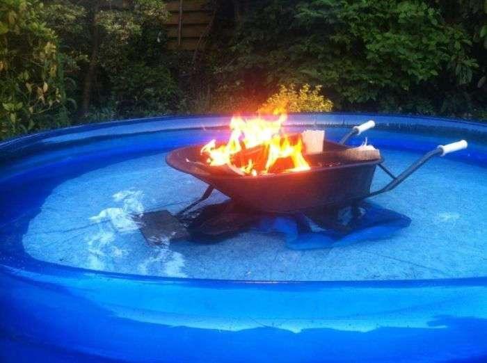 Народные способы подогрева холодной воды (16 фото)