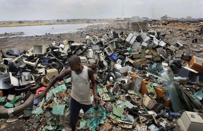 Самые загрязнённые места на планете (15 фото)