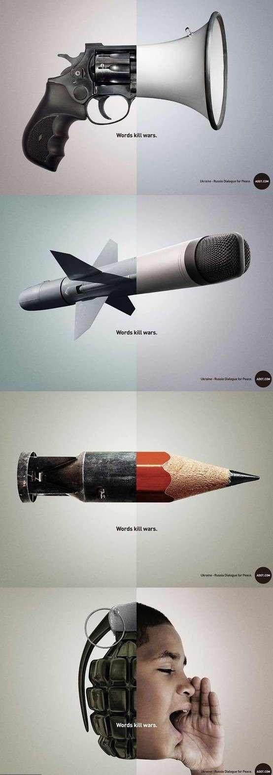 Шедевры социальной рекламы (22 фото)