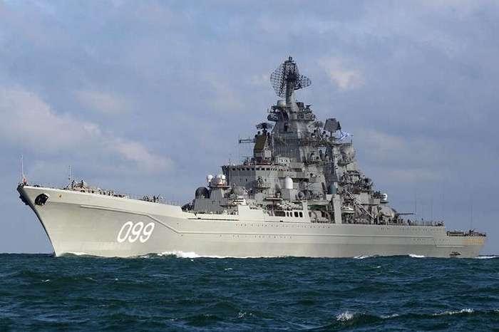 -Петр Великий- - на что способен самый мощный крейсер в мире (4 фото)