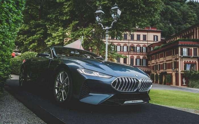 Концепт BMW 8 серии представлен на Вилле д'Эсте (26 фото + 3 видео)