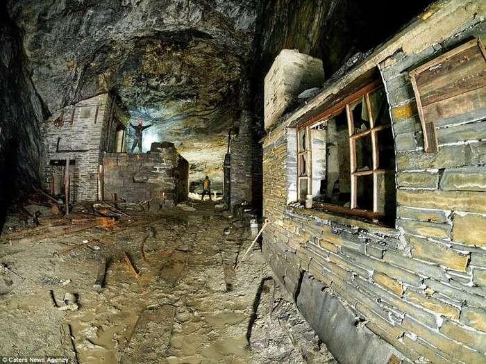 Фотографии из заброшенных подземных шахт и пещер (15 фото)