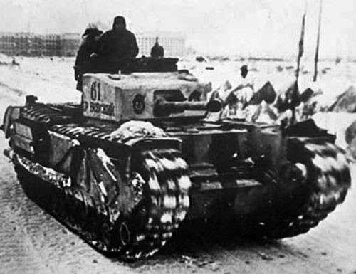 Тяжелые танки союзников времен Второй мировой войны (11 фото)