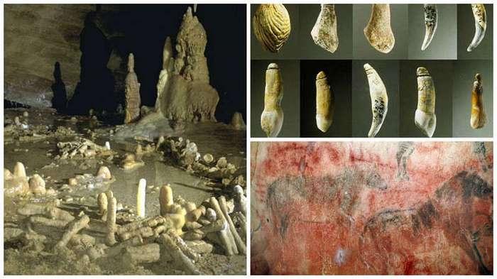 Творчество в жизни неандертальцев (8 фото)