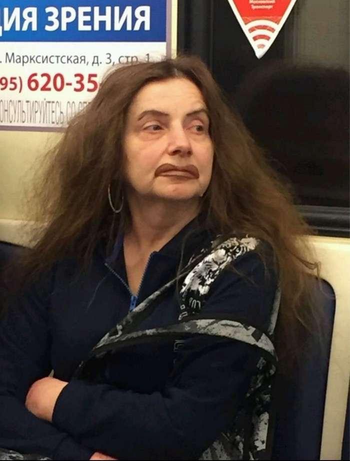 Нашли своё фото? Беспощадная мода из метро! (32 фото)