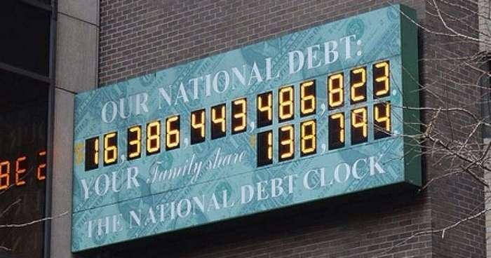 Госдолг США в картинках (11 фото)