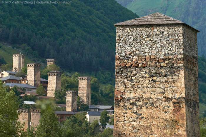 13 фактов о Сванских башнях (14 фото)