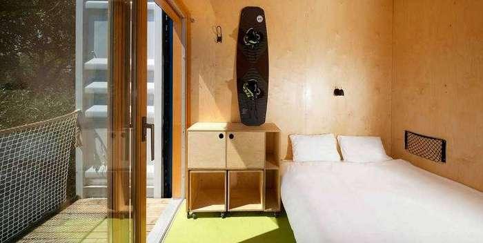 Мобильный отель из контейнеров
