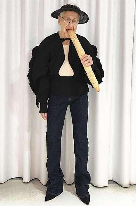 95-летняя модель Эрнестина Штольберг