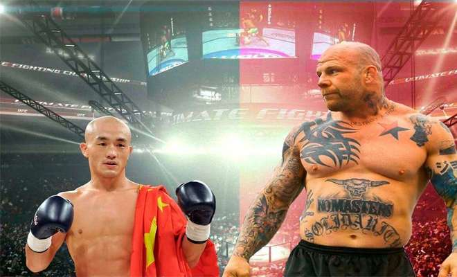Монах из Шаолиня против бойцов ММА