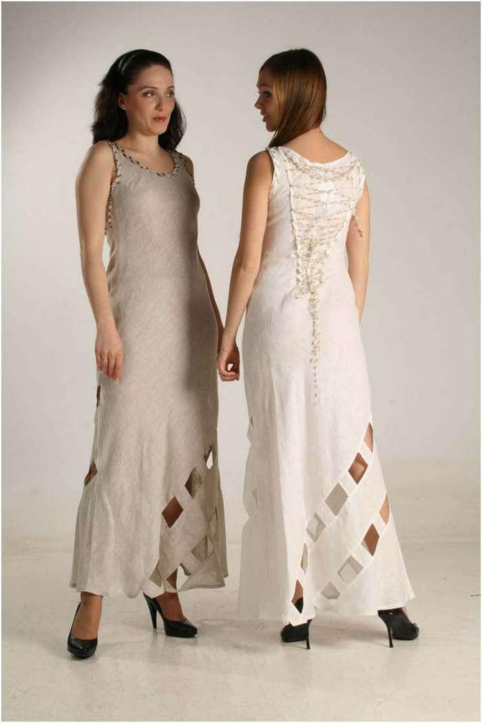 Одежда из льна: особенности, преимущества, модные фасоны