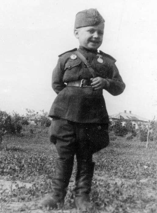 Маленький солдат Великой Отечественной войны