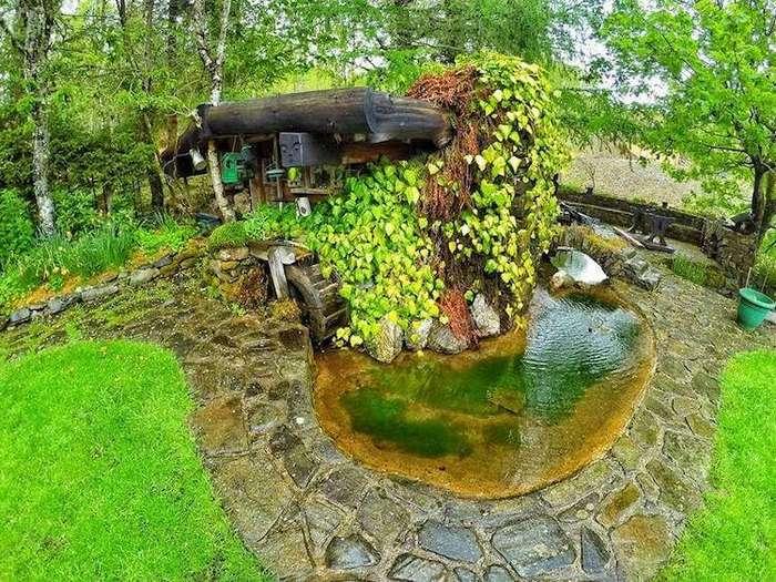 Сказочный домик хоббита в Шотландии