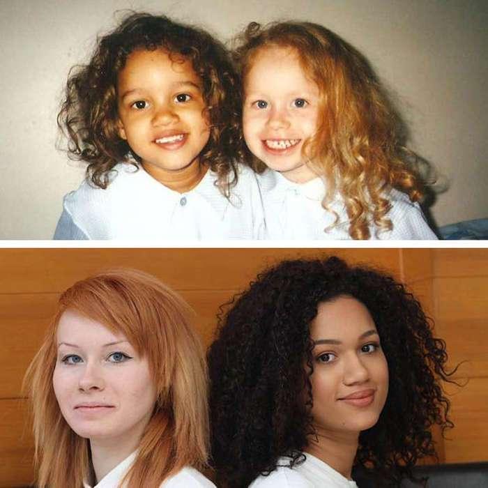 Как выглядят повзрослевшие неидентичные близнецы Люси и Мария