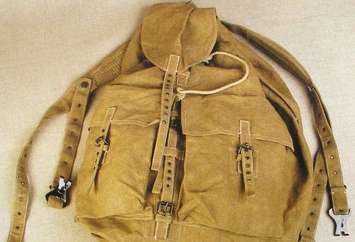 Как появился походный рюкзак в СССР