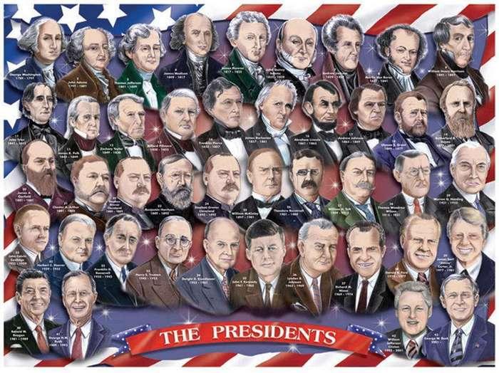 5 американских президентов &8211; -неудачников-