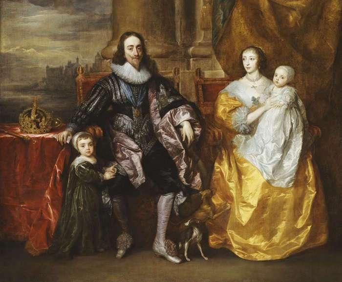 Джеффри Хадсон &8211; придворный карлик королевы Генриетты Марии