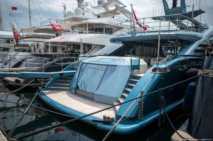 Шикарные яхты знаменитых гостей Каннского фестиваля