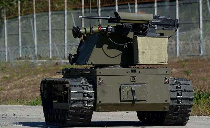 Российские боевые роботы
