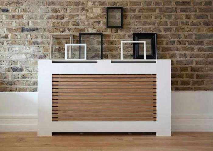 18 блестящих идей, которые помогут спрятать неприглядный радиатор отопления