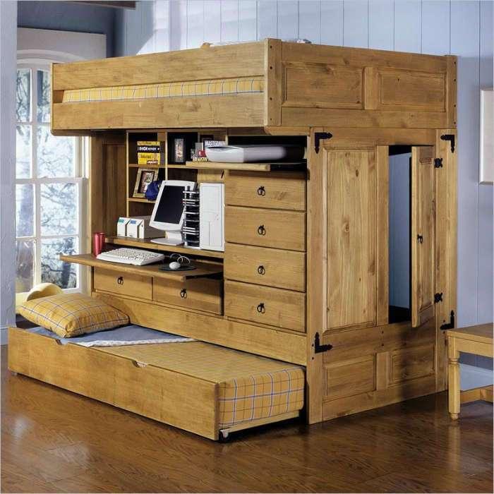 20 эргономичных двухъярусных кроватей, которые помогут здорово сэкономить место в спальне