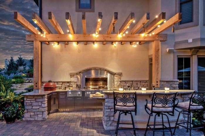 20 отличных идей, как сделать удобную и красивую летнюю кухню на дачном участке