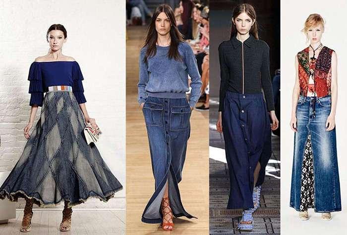 Привет из 90-х: самые модные джинсовые юбки этого лета