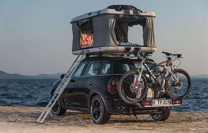 Палатка-багажник, которая превратит любой автомобиль в дом на колесах