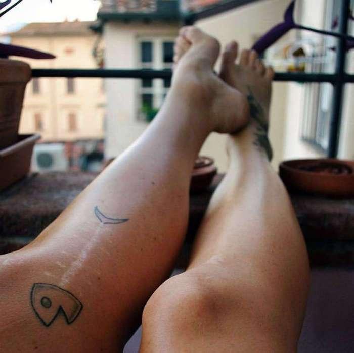 Больше, чем татуировка: 20 восхитительных примеров превращения шрамов в произведения искусства