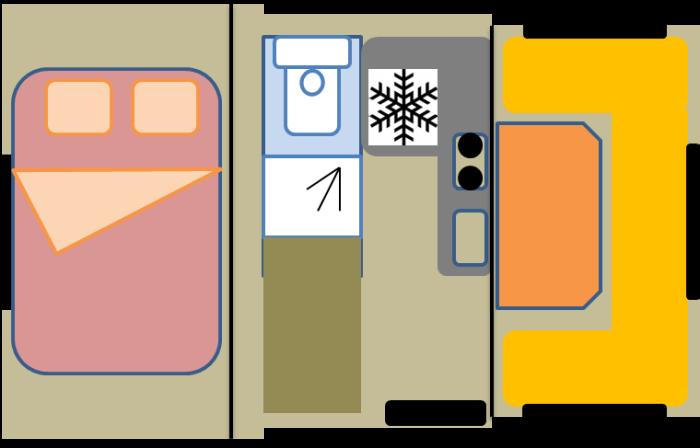 Компактный дом на колесах, который на стоянке увеличивается в 3 раза