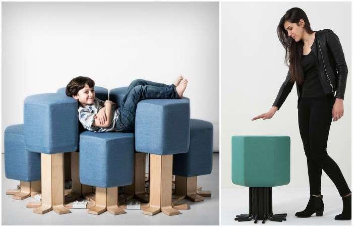 Создан самый удобный в мире диван, который умеет расти и…двигаться
